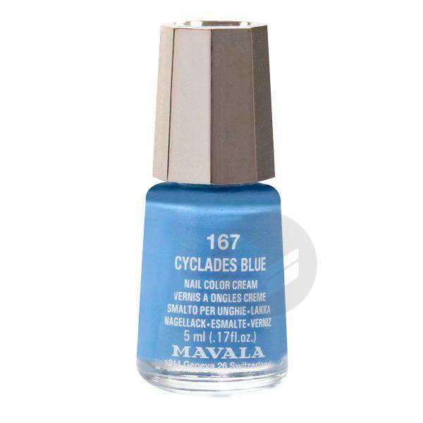 MAVALA V ongles cyclades blue mini Fl/5ml
