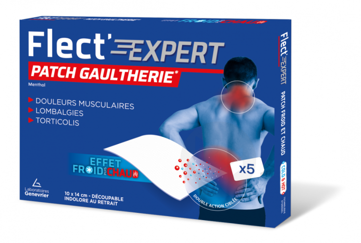 Flect Expery Patch Froid Chaud X 5