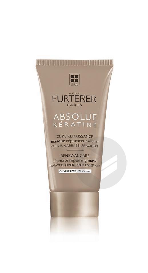 Rene Furterer Absolue Keratine Masque Reparateur Ultime Cheveux Epais 30 Ml