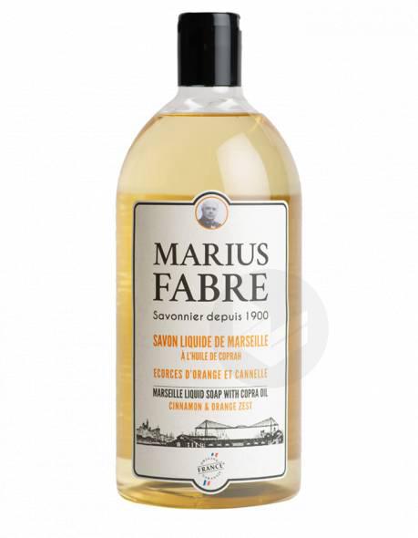 Savon liquide de Marseille A l'huile de Coprah Ecorces d'orange et cannelle 400ml