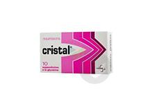 CRISTAL Suppositoire nourrisson (Sachet de 10)