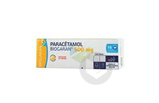 PARACETAMOL BIOGARAN 500 mg Comprimé effervescent (Boîte de 16)