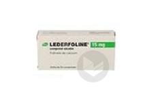 LEDERFOLINE 15 mg Comprimé sécable (Plaquette de 30)