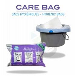 CARE BAG Sac hygiénique pour bassin de lit Pack/20