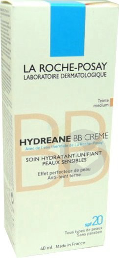 Hydreane Bb Creme Cr Teintee Doree T 40 Ml Carnet Offert