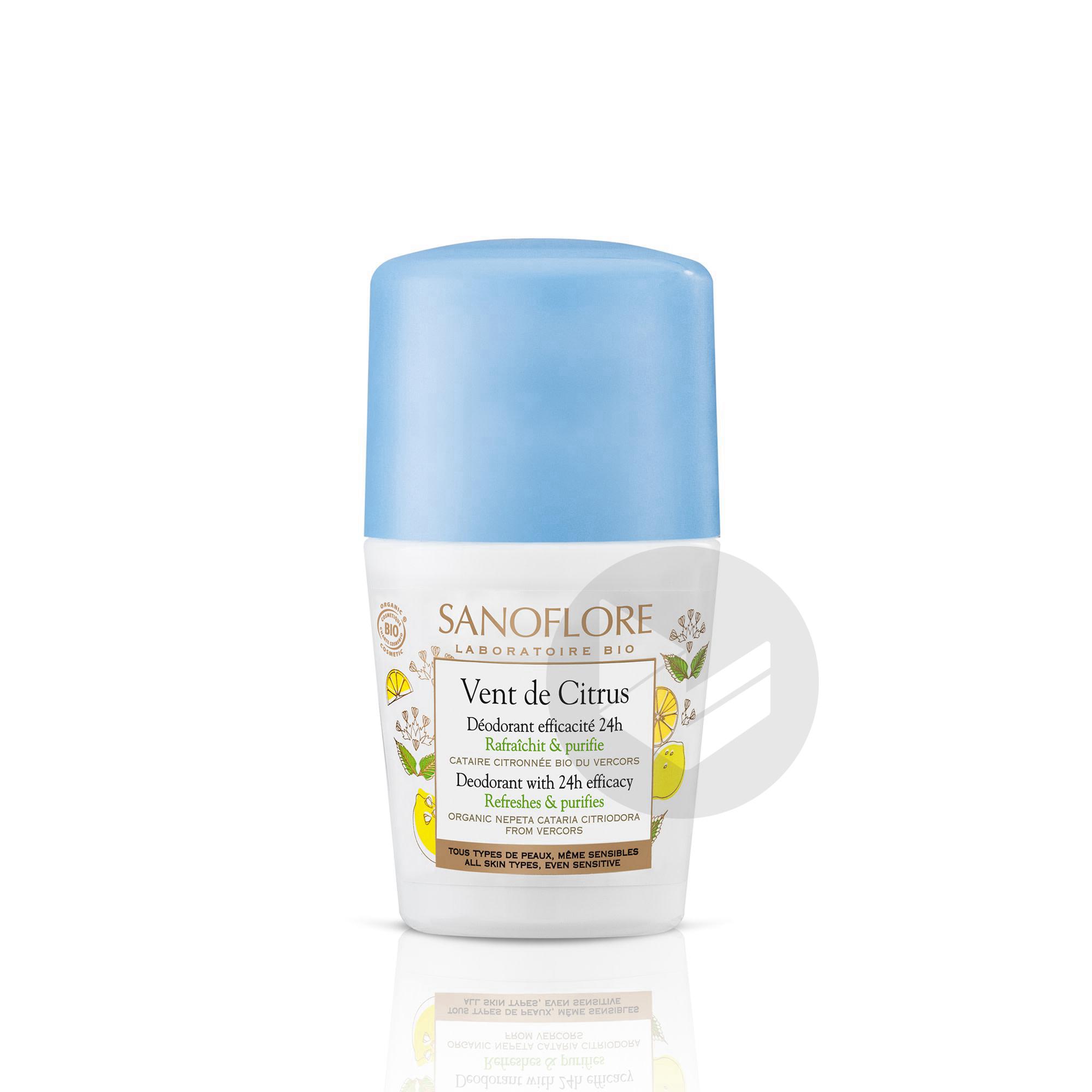 Deodorant Purifiant Efficacite 24 H Vent De Citrus 50 Ml