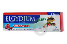Kids Protection Caries Gel Dentifrice Grenadine 2 6 Ans T 50 Ml