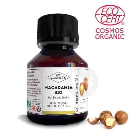 Huile Macadamia bio 50ml