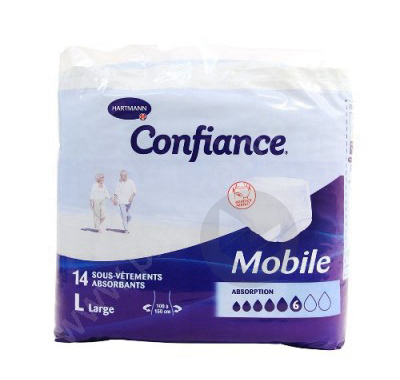 Confiance Mobile Slip Absorbant Jetable Tl Sach 14