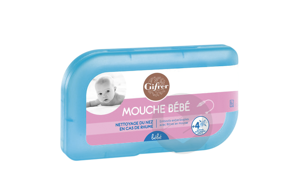 Mouche Bebe 4 Embouts Offerts