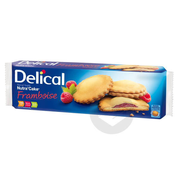 Nutracake Biscuit Framboise 3 Sach 105 G