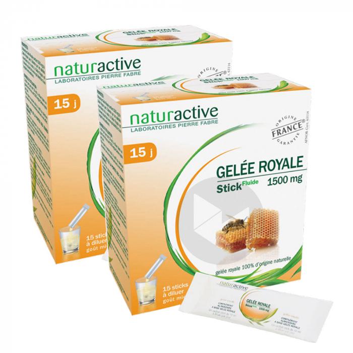 NATURACTIVE Duo Gelée Royale 2x15 sticks