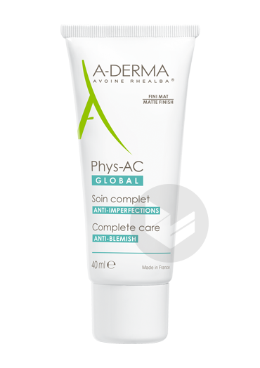 A Derma Phys Ac Global Soin Complet 40 Ml