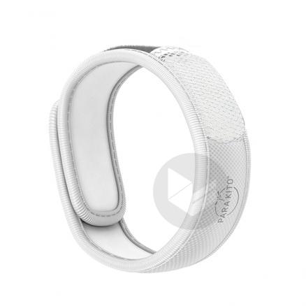 Parakito Bracelet Anti Moustiques Blanc