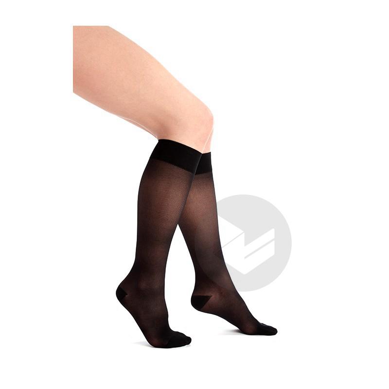 VENOFLEX INCOGNITO ABSOLU 2 Chaussette femme noir T3N
