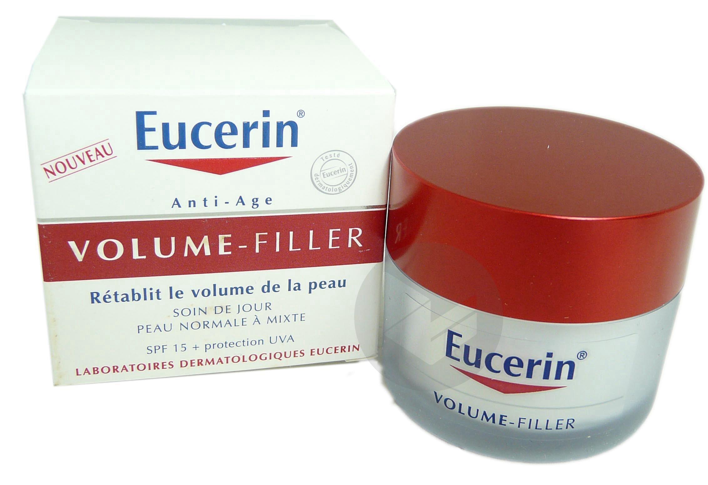 EUCERIN VOLUME-FILLER Cr soin jour peau normale à mixte Pot/50ml