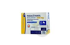 PARACETAMOL BIOGARAN 500 mg Poudre pour solution buvable en sachet-dose (Boîte de 12)