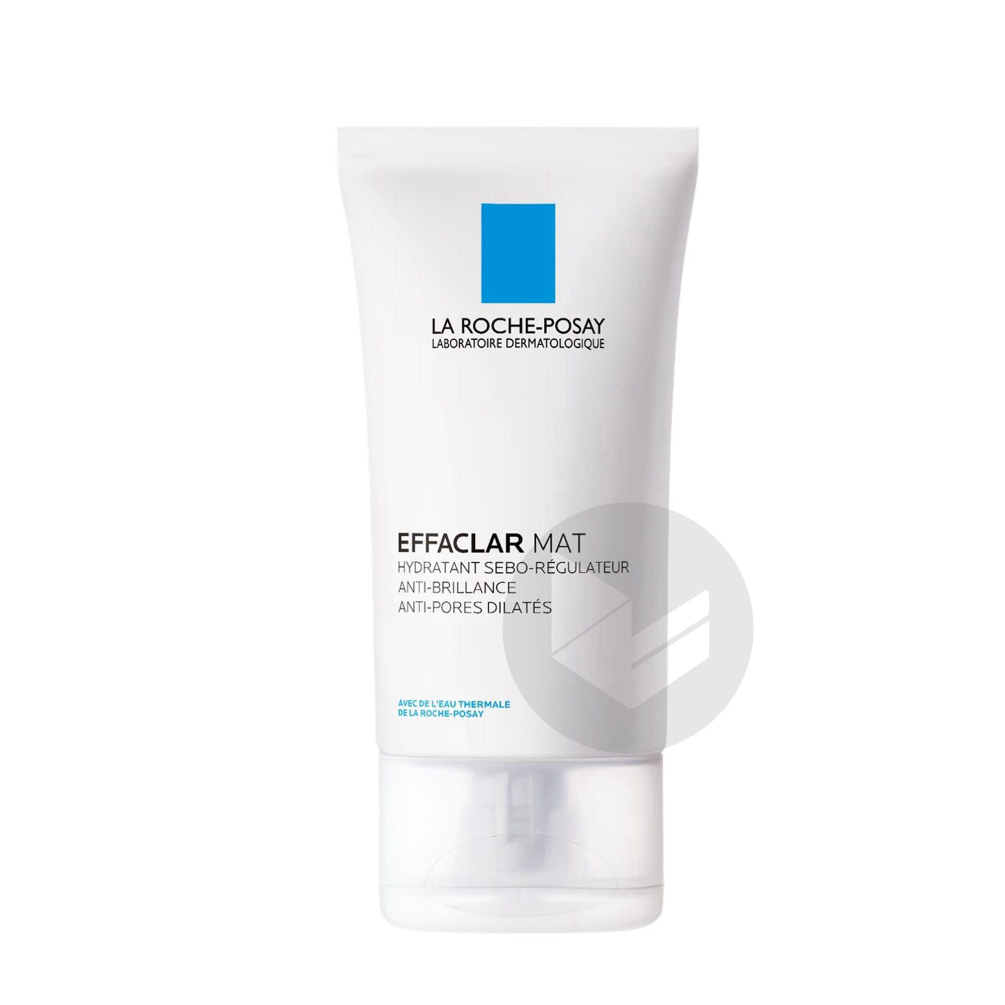 Effaclar Mat Hydratant Sebo Regulateur Anti Brillance Anti Pores Dilates 40 Ml