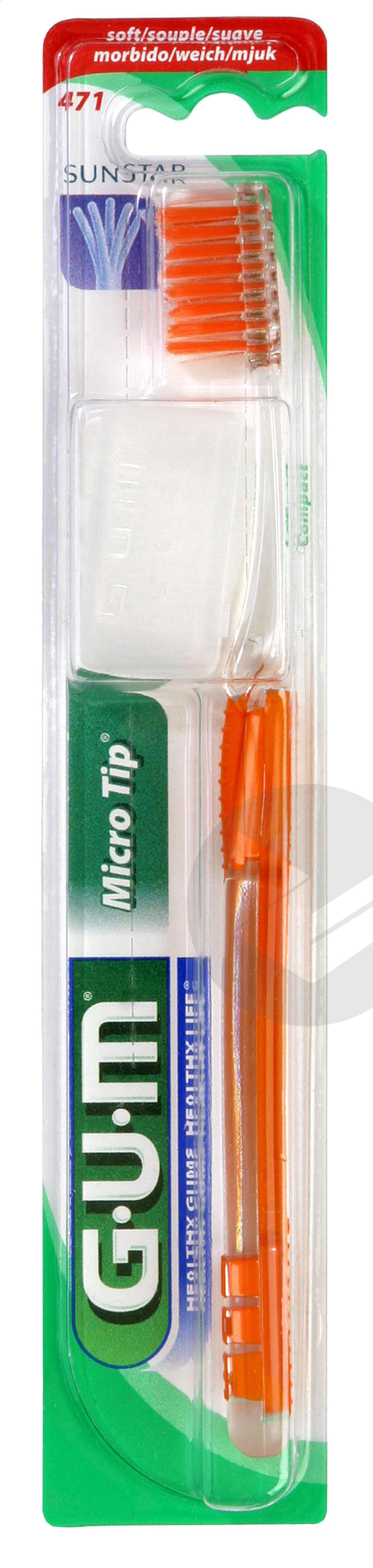 Brosse A Dents Micro Tip Souple Compacte