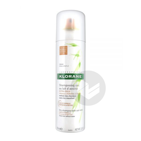 Capillaire Shampooing Sec Avoine Teinte Spray 150 Ml