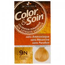 Color Soin Kit Coloration Permanente 9 N Blond Miel
