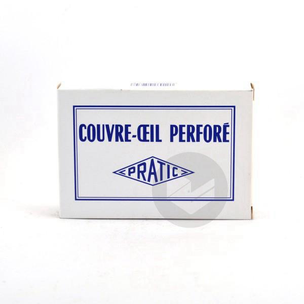 Pratic Couvre Oeil Plastique Blanc