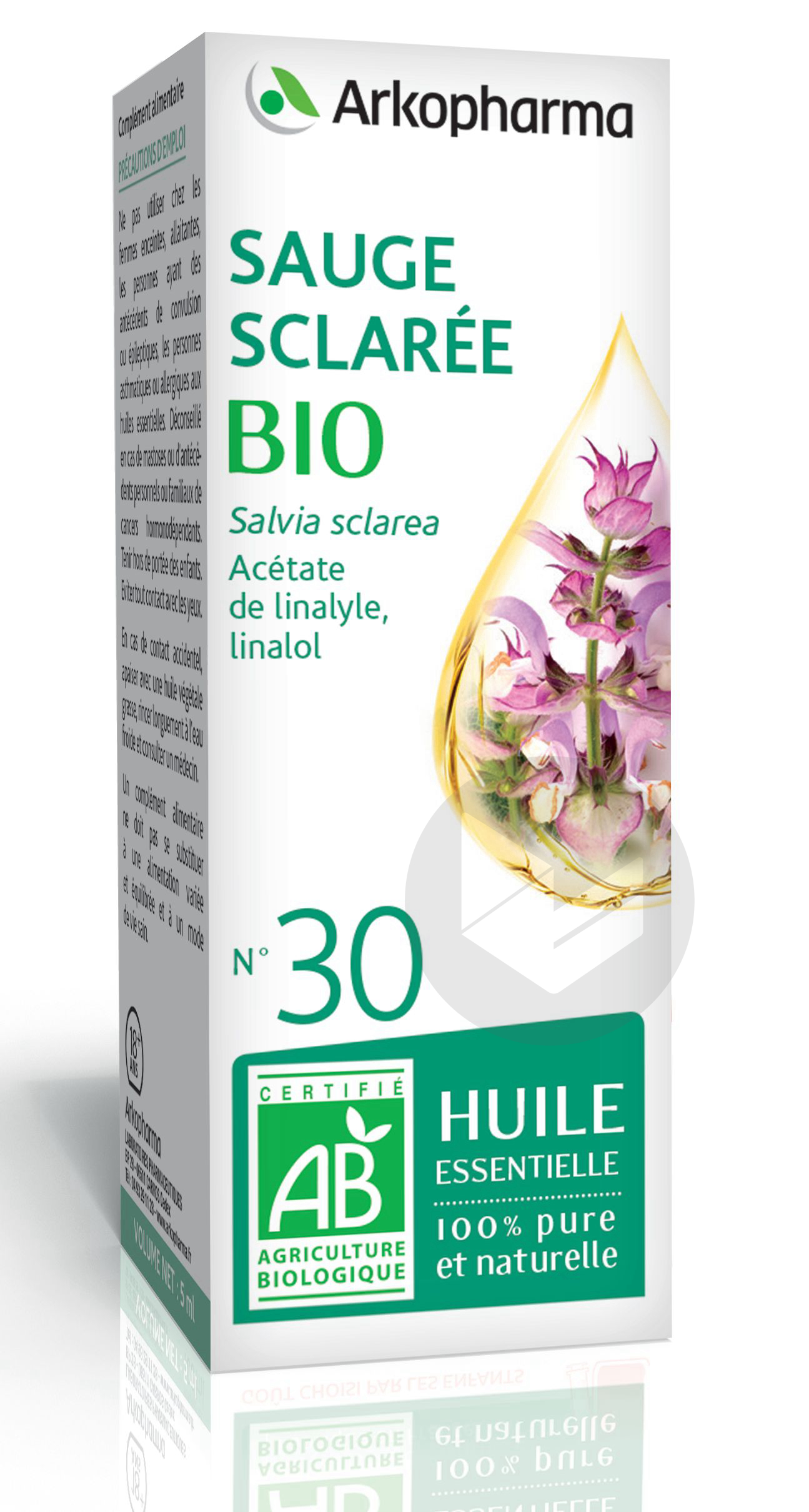 N 30 He Sauge Sclaree Bio 5 Ml