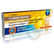 Arko Royal Defenses Naturelles Pdr Adulte 7 Doses 10 Ml