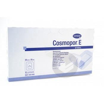 COSMOPOR E STERIL Pans adhésif stérile avec compresse 10x20cm B/10