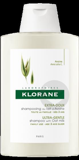 Shampooing Lait d'Avoine 400 ml KLORANE