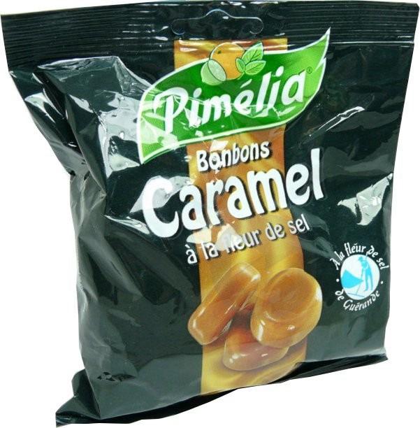 Pimelia Bonbon Caramel Fleur De Sel Sach 100 G