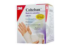 Coheban Bde Cohesive Contention Blanc 70 Mmx 3 M