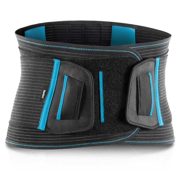 Cienture Lombobelt Renfort Noir 21 Cm Taille 4