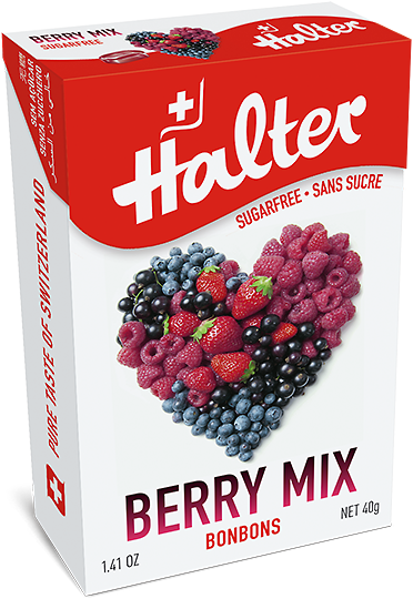Berry Mix Bonbons Sans Sucre 40 G