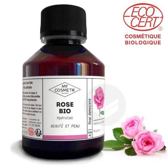 Hydrolat Rose de damas bio 100ml
