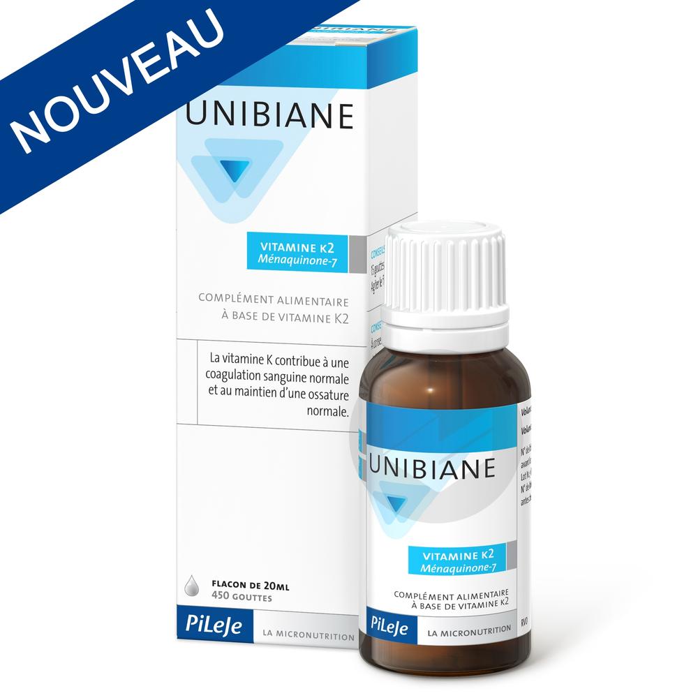 Unibiane Vitamine K2 Ménaquinone-7