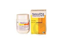 NATECAL VITAMINE D3 600 mg/400 UI Comprimé orodispersible (Pilulier de 60)