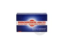 BRONCHODERMINE Suppositoire adulte (Boîte de 10)