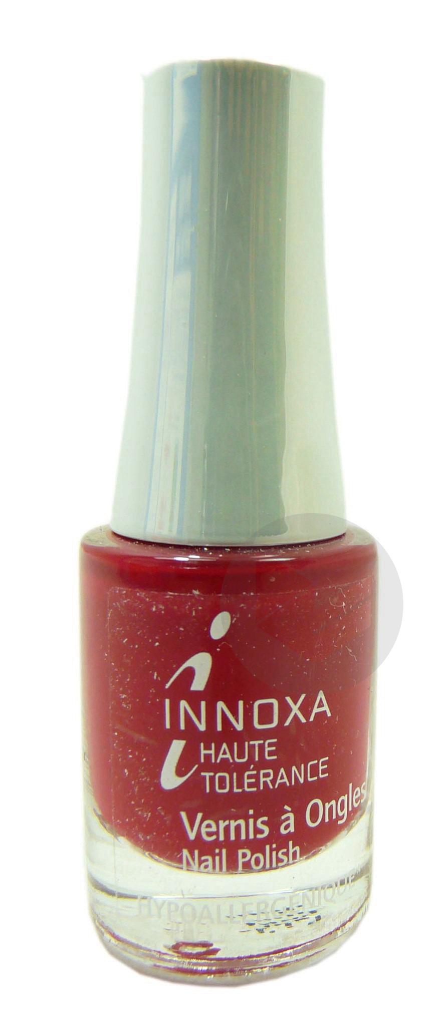 INNOXA HAUTE TOLERANCE V ongles rouge glacé 406 Fl/4,8ml
