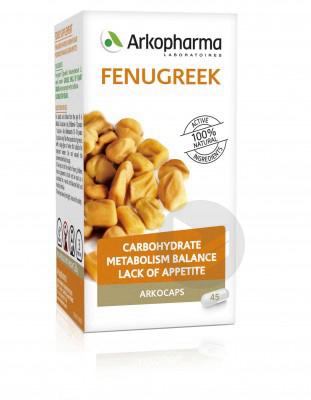 Arkogelules Fenugrec