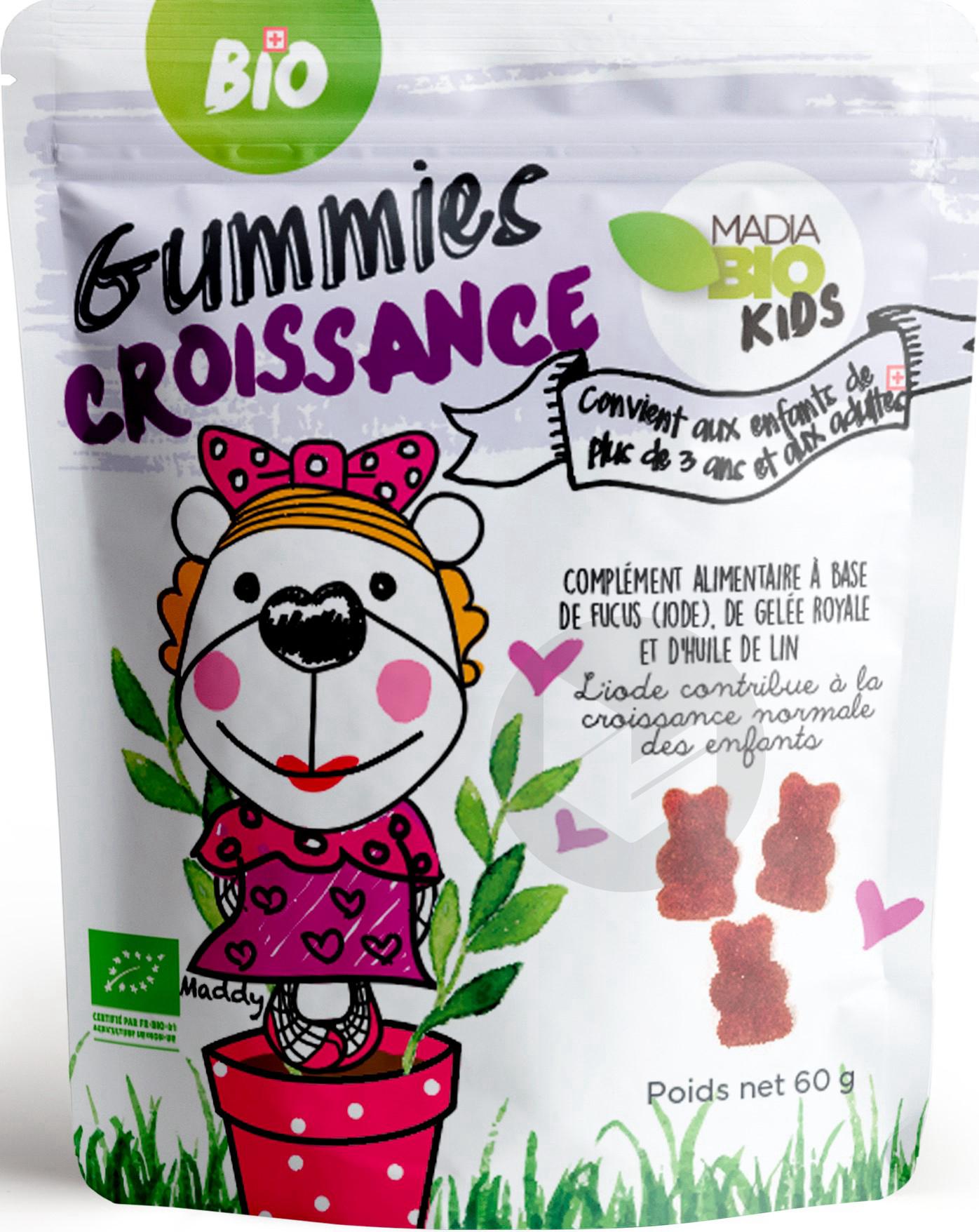 MADIA BIO Gummies Croissance