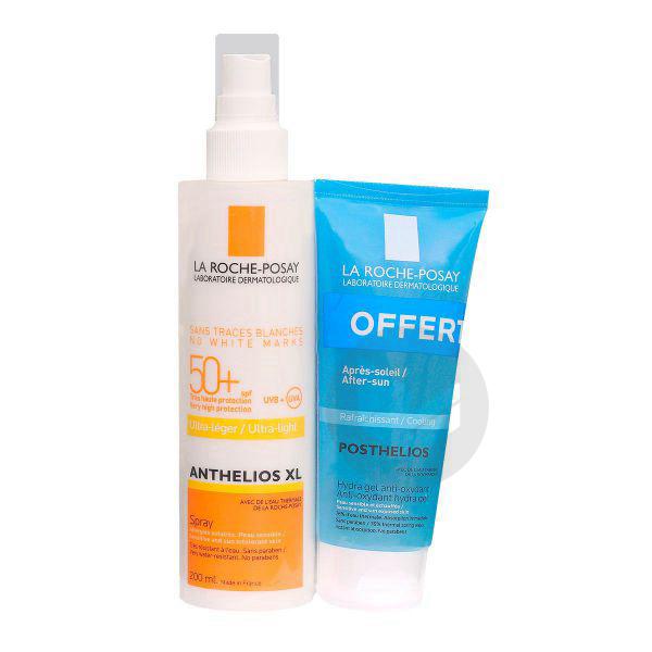 Anthelios Xl Spf 50 Spray Avec Parfum Fl 200 Ml Posthelios Offert