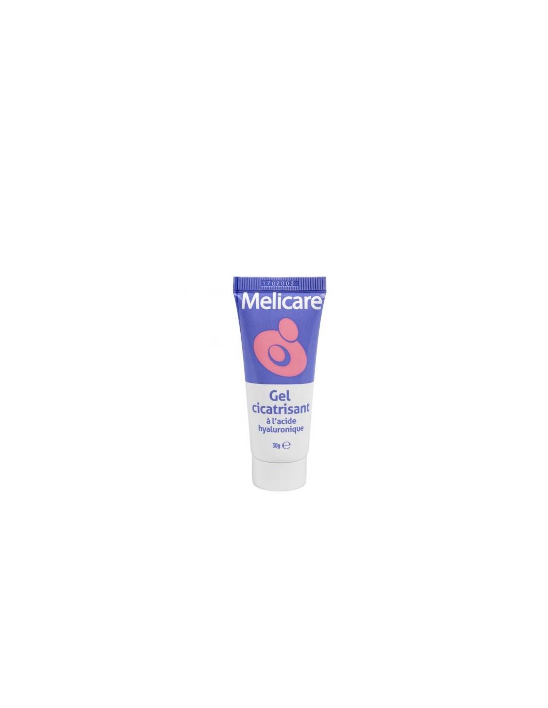 Gel cicatrisant à l'acide hyaluronique Melicare 30g
