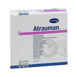 Atrauman Pans Interface Sterile 10 X 10 Cm B 10
