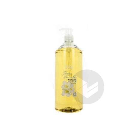 GRAVIER Shampooing douche fleurs blanches Fl pompe/1l