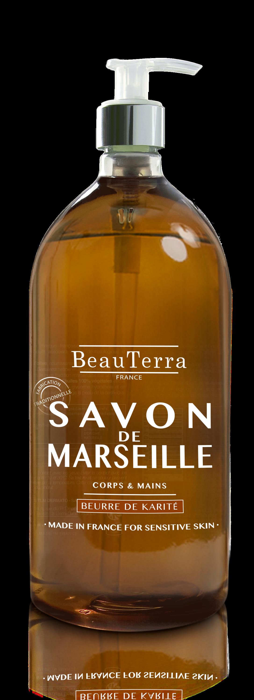 Savon De Marseille Liquide Beurre De Karite 1 L