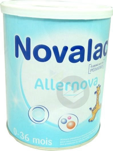 Allernova Aliment Infant B 400 G