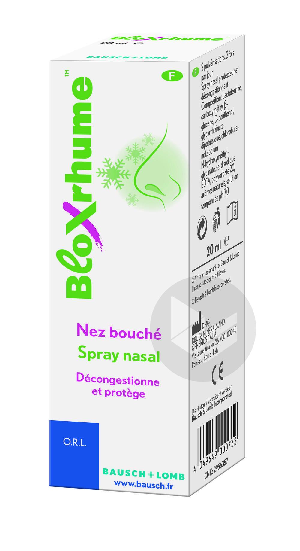 Bloxrhume Spray Nasal 20 Ml
