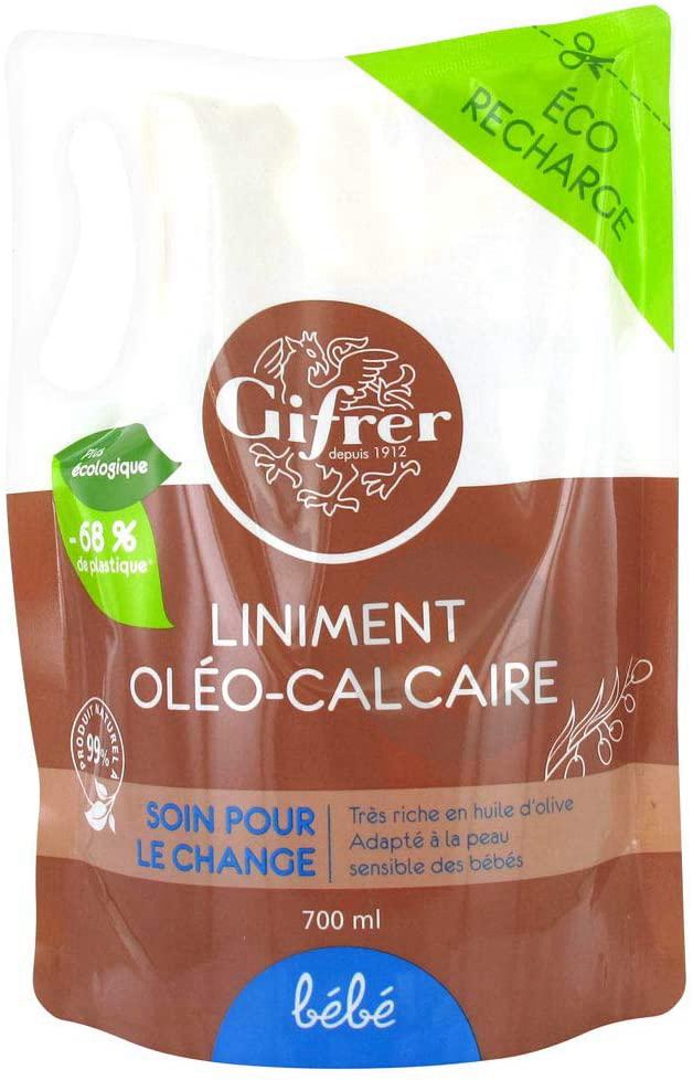 Gifrer Bebe Liniment Oleo Calcaire Eco Recharge 700 Ml