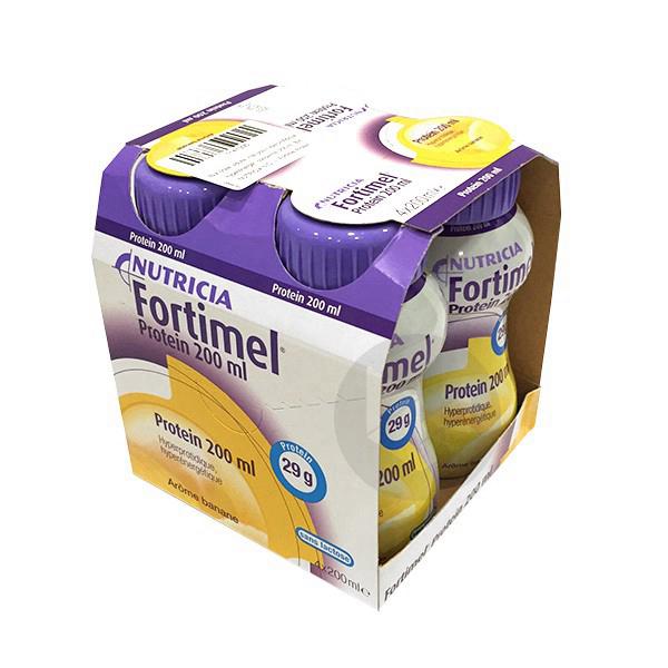 Fortimel Protein Banane 200 Ml X 4